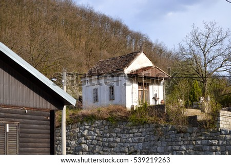A small countryside morgue in Djerdap National park, Serbia