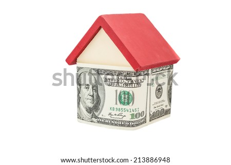 a small house covered hundred dollars