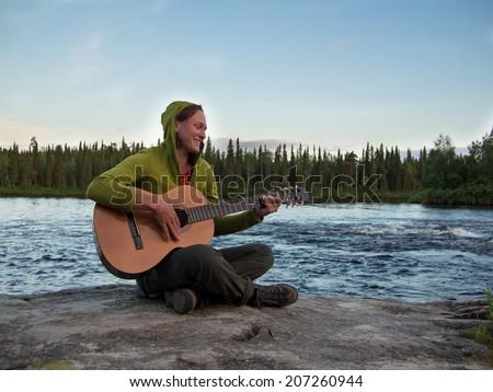 Girl in river stock image. Image of sloppy, moist, sensual