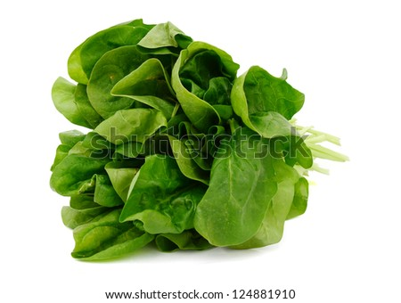 A spinach vegetable bundle