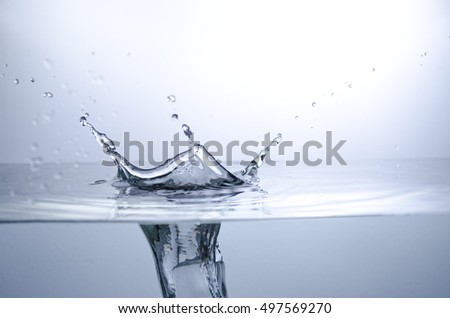 A Splash on the Surface of Water