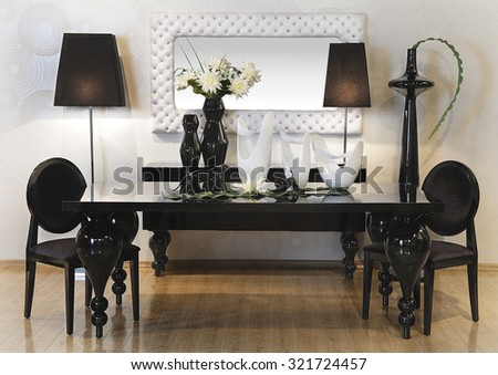 a spot in a showroom with furniture and others decoration accessories