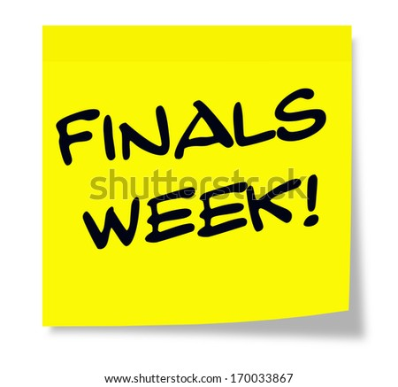 Image result for the word finals