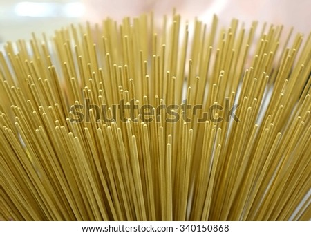 A store for religious artifacts sells incense sticks  - stock photo