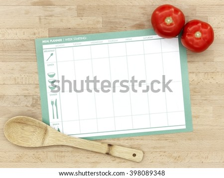 A studio photo of a kitchen bench in preparation for cooking - stock photo
