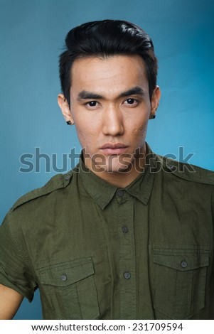 Asian male model picture