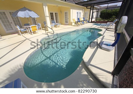 A Swimming Pool and a Large Spa