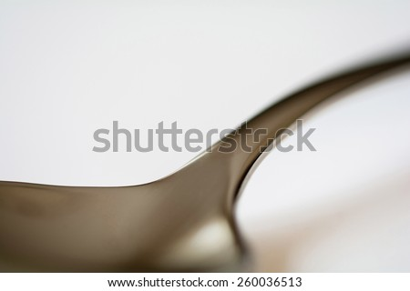 A tablespoon photography in an abstract macro way