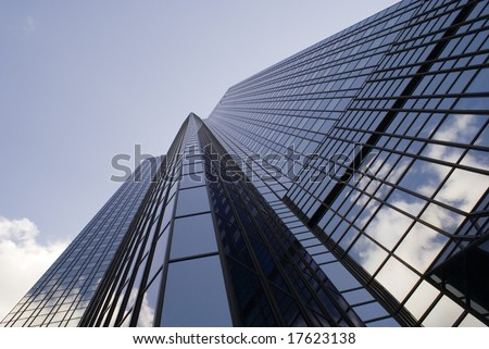 A tall Steel & Glass building (from different angle)
