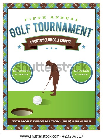 golf tournament invitation stock images royalty free images vectors shutterstock. Black Bedroom Furniture Sets. Home Design Ideas