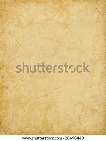 A textured background with subtle stains and cracks. - stock photo