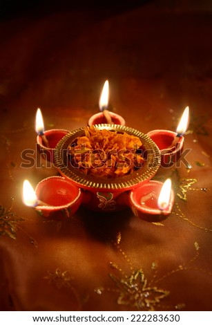 Traditional indian lamp diwali greeting card stock photo royalty a traditional indian lamp diwali greeting card cover design m4hsunfo