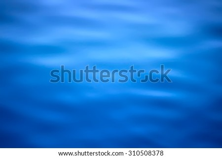 A tranquil water background. Abstraction for a relaxation - stock photo