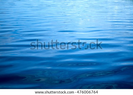 A tranquil water background. Abstraction for  relax