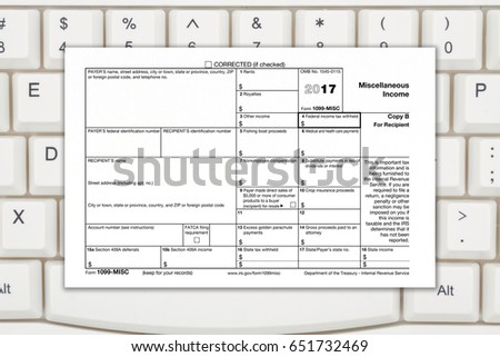 Us Federal Tax 1099 Income Tax Stock Photo 651732469 Shutterstock