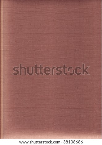A vertical view of metallic craft paper in a warm rust color - stock photo