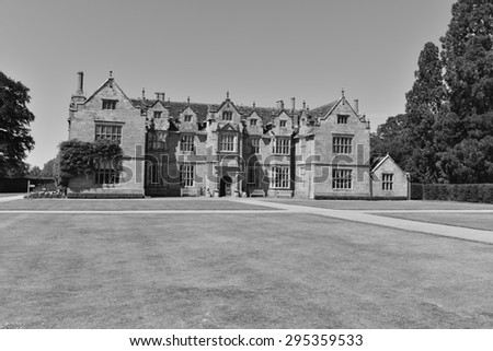 A very old country estate in the County of Sussex in England