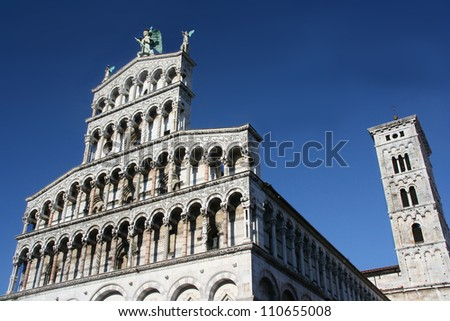 A view from Lucca Duomo