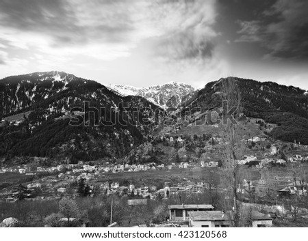 A View of Manali,India
