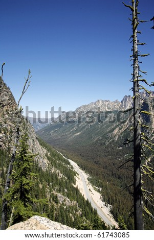 A view of north cascade national park.