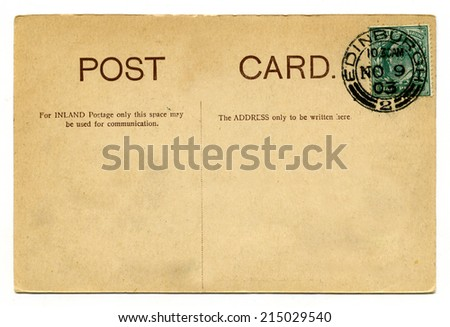 A vintage postcard over a plain white background.