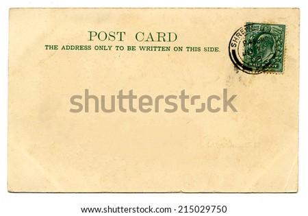 Plain Postcards Stock Images, Royalty-Free Images & Vectors ...