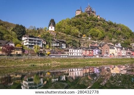 A visit to Mosel, Germany. - stock photo