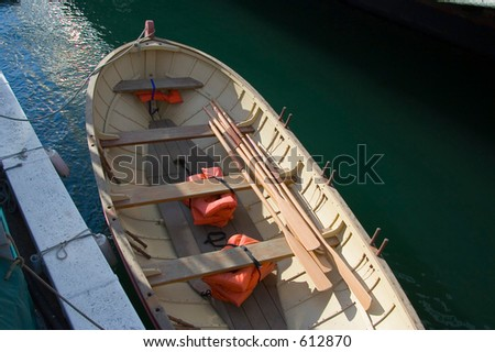 A voyage with a sailboat - excusion into nature (exclusive at shutterstock) - stock photo