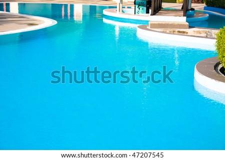 A way to swim through - stock photo