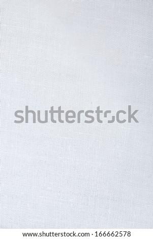 a white tablecloth - stock photo