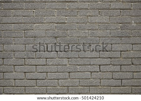 A whole page of grey brick wall background texture