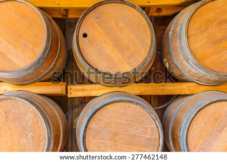 A wine room - stock photo