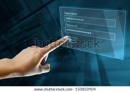 a woman finger sign on a digital screen