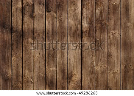 a wooden background consisting of a few boards - stock photo