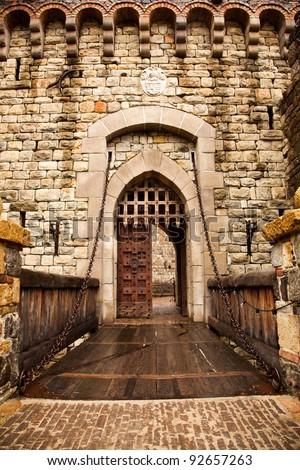 Castle Drawbridge Stock Images Royalty Free Images