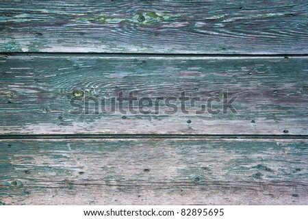 A wooden green background usable like a texture - stock photo
