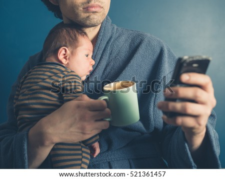 Dad And Baby Stock Images Royalty Free Images Amp Vectors
