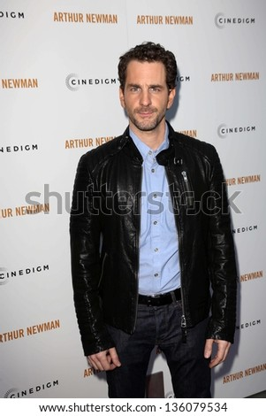 "Aaron Abrams at the ""Arthur Newman"" Premiere, Arclight, Hollywood, CA 04-18-13 - stock photo"