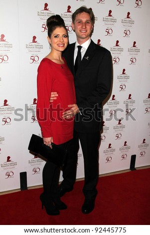 Aaron Staton at the St. Jude Children's Research Hospital 50th Anniversary Gala, Beverly Hilton, Beverly Hills, CA 01-07-12