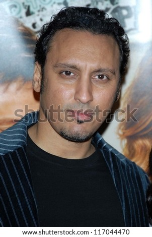"Aasif Mandvi at the Los Angeles premiere of ""Music and Lyrics"". Grauman's Chinese Theatre, Hollywood, CA. 02-07-07"
