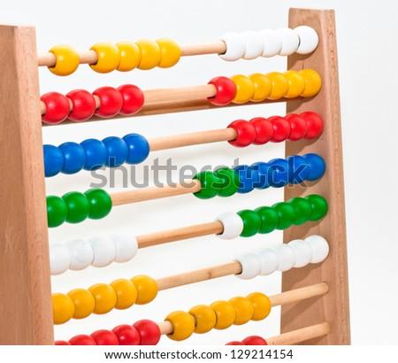 Abacus - stock photo