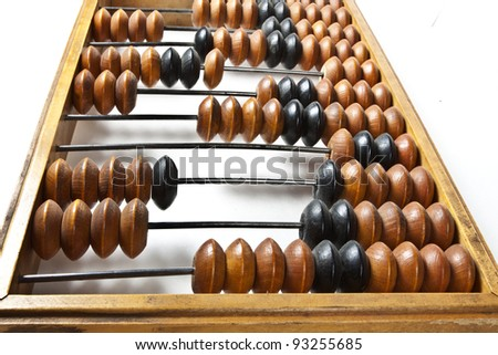 Abacus - stock photo