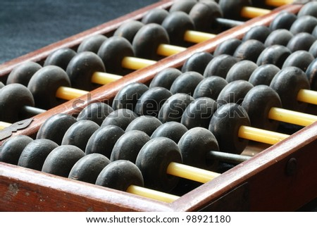 abacus ball - stock photo
