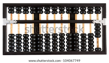 Abacus showing four