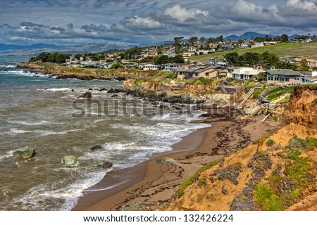 Abalone Cove, Cambria, California - stock photo