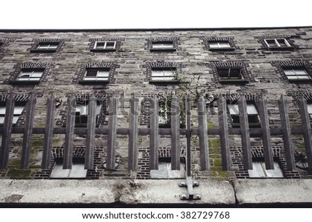 Abandoned building in Dublin