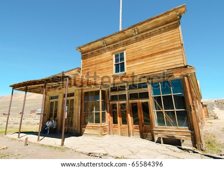 abandoned ghost town general store