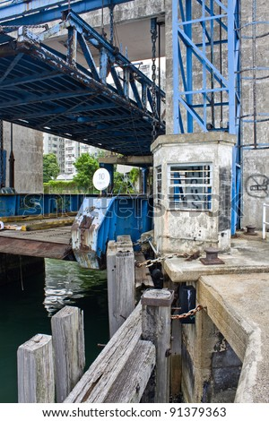 abandoned harbour