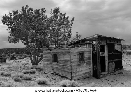 Abandoned home in the desert of Vermilion Cliffs National Monument