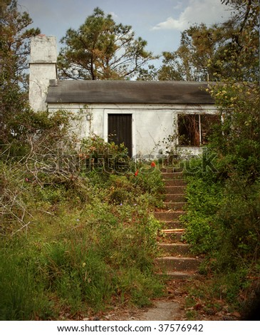 Abandoned House in the Outer Banks